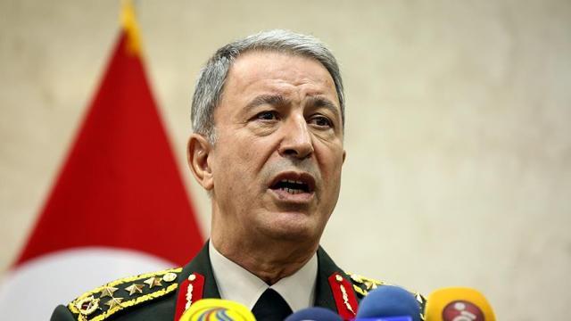 Genelkurmay Başkanı Akar: Sadece PKK değil DEAŞ da bölgeden temizleniyor