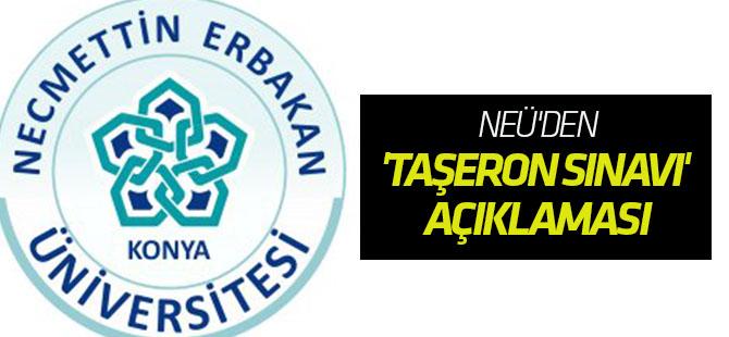 NEÜ'den 'taşeron sınavı' açıklaması