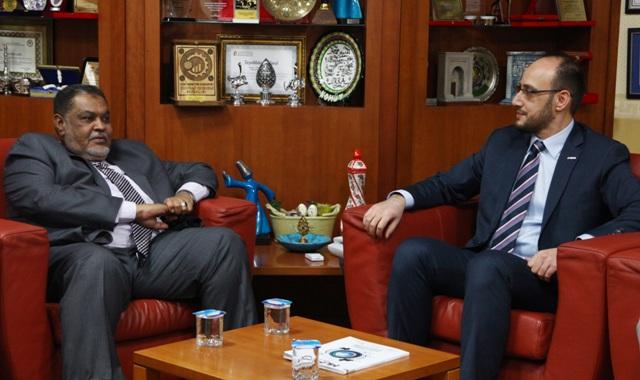 Başkan Okka, Sudan ile  Her Türlü İş Birliğine Hazırız