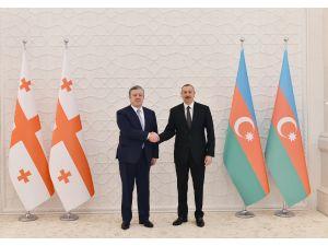 Kvirikaşvili-Aliyev görüşmesi