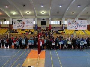 Badminton heyecanı Konya'da yaşandı