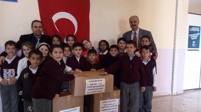 İlkokul öğrencilerinden Afrin'deki Mehmetçiğe en anlamlı destek