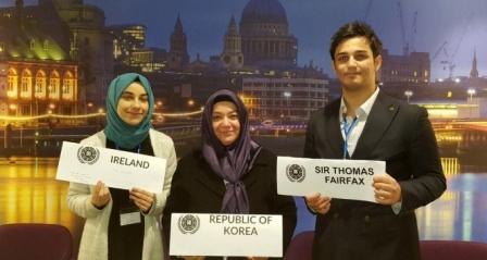 Türk öğrenciye İngiltere'den ödül