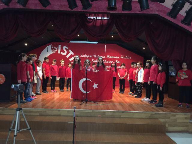 Sistem Kolejinde Mehmet Akif Ersoy Anıldı