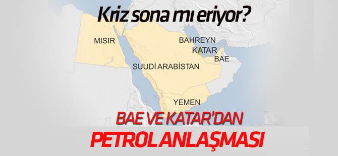 """Katar ve BAE arasında Körfez krizinden sonraki """"ilk anlaşma"""""""