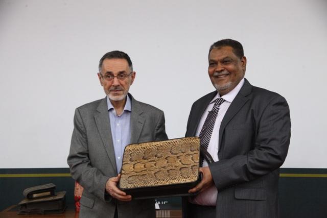 İttifak Holding, dost ülke Sudan'ın Ekonomi ve Ticaret Bakanları'nı ağırladı.
