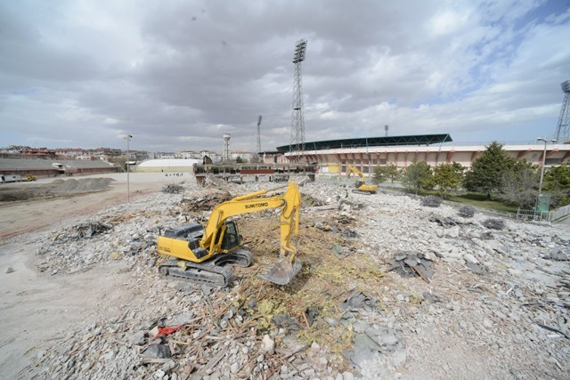 Eski Stadyum, Yeşil Alan ve Meydan olacak