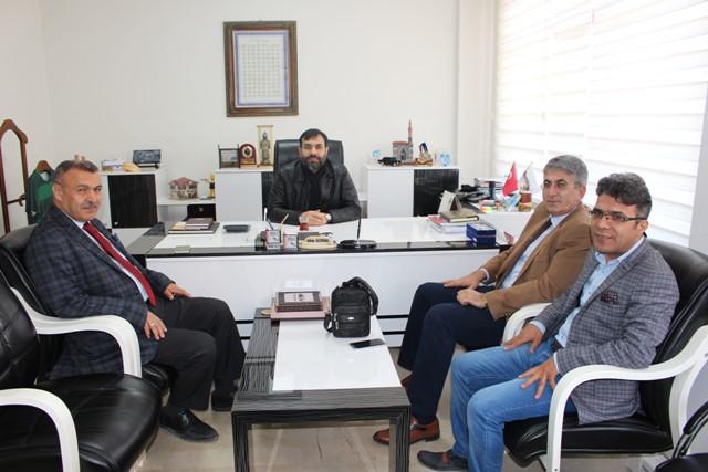 Sefa Özdemir, Memleket Gazetesi'ni ziyaret etti.