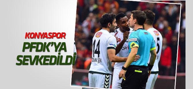 Konyaspor, PFDK'ya sevk edildi