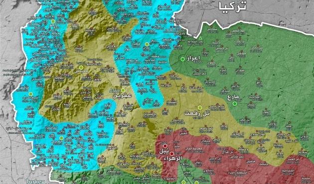 Artık hedefte Afrin merkezindeki hainler var...