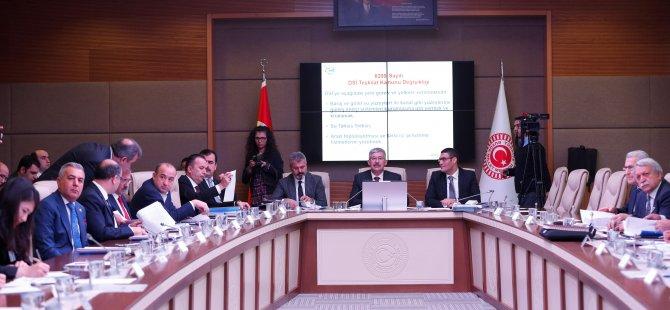 DSİ Kanunu ve bazı kanunlarda değişiklik yapan tasarı komisyonda