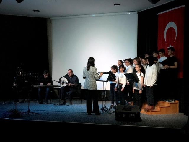 Özel Türmak Okullarında Şehitlere Vefa Gecesi