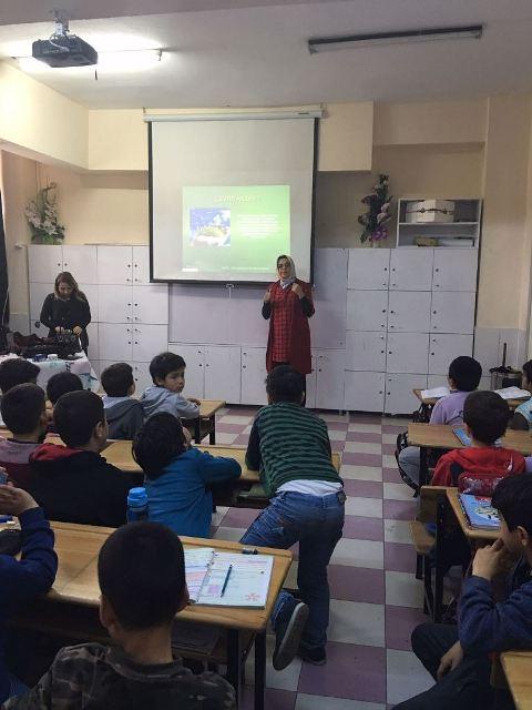 Belediye'den Okullarda Çevre Eğitimi