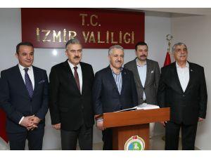 Ulaştırma, Denizcilik ve Haberleşme Bakanı Arslan İzmir'de: