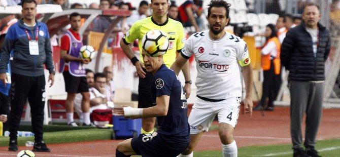 Kabir azabı gibi! Antalyaspor: 0 -Atiker Konyaspor: 0