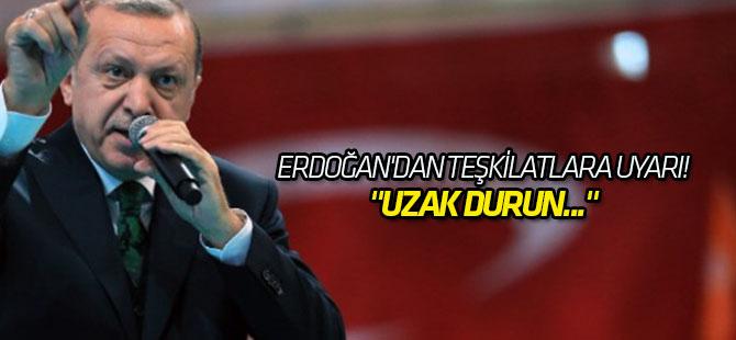 Erdoğan'dan teşkilatlara görüntülü mesajla uyarı!