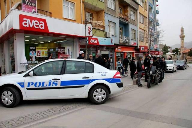 Seydişehir'de motosiklet denetimleri