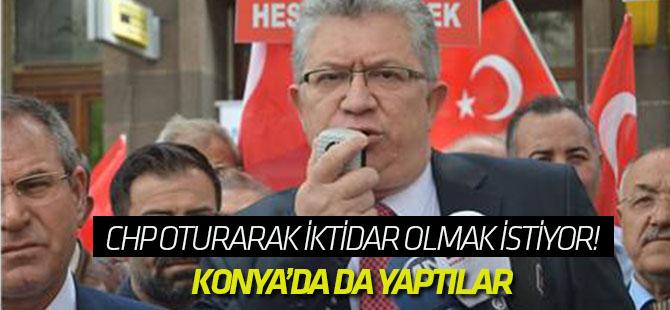 CHP oturarak iktidar olmak istiyor!