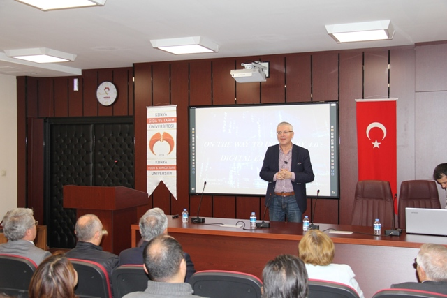 KGTÜ'de tarım 4.0 konferansı