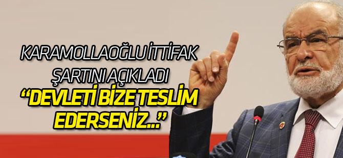 SP lideri Temel Karamollaoğlu AK Parti ile ittifak şartını açıkladı