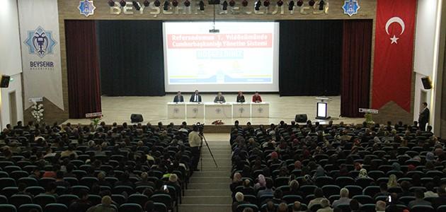 Cumhurbaşkanlığı başdanışmanları, Cumhurbaşkanlığı yönetim sistemini anlattı
