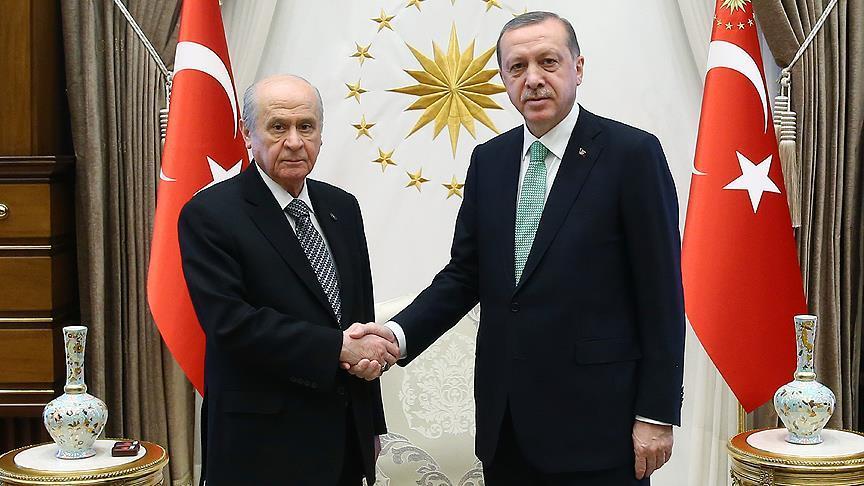 Erken seçim çağrısı sonrası Erdoğan-Bahçeli yarın görüşecek