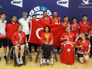 Konyalı badmintonculardan 7 madalya