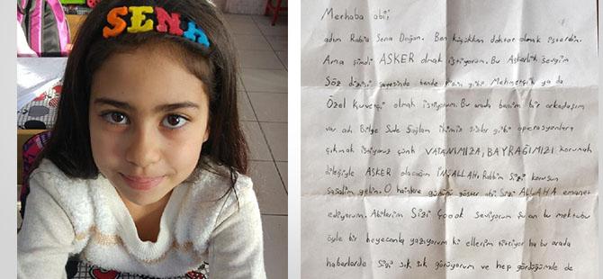 Konya'da hız kurbanı Rabia'nın ağlatan 'Afrin' mektubu