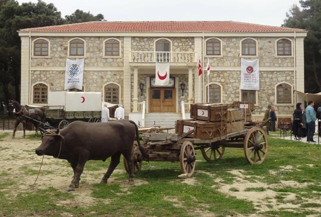 Selçuklu Belediyesi'nden Çanakkale Sergisine destek