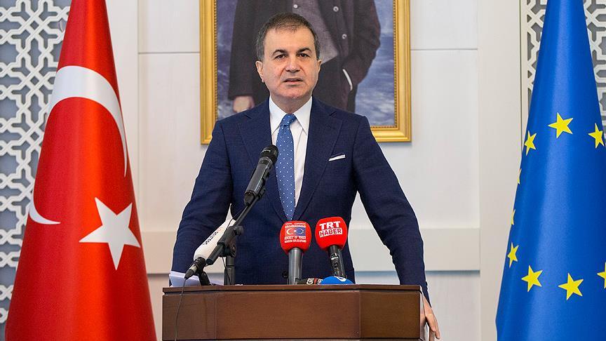 Çelik'ten AB'nin Türkiye raporuna tepki