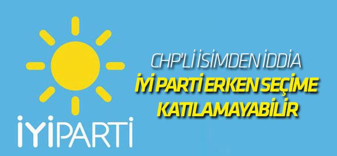 CHP'li Özgür Özel: İYİ Parti erken seçime katılamayabilir