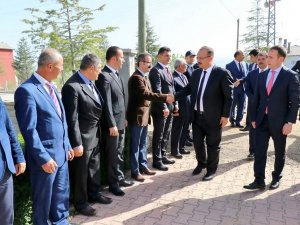 Konya Valisi Canbolat Yalıhüyük'te