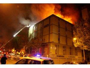 GÜNCELLEME - İkitelli'de yangın