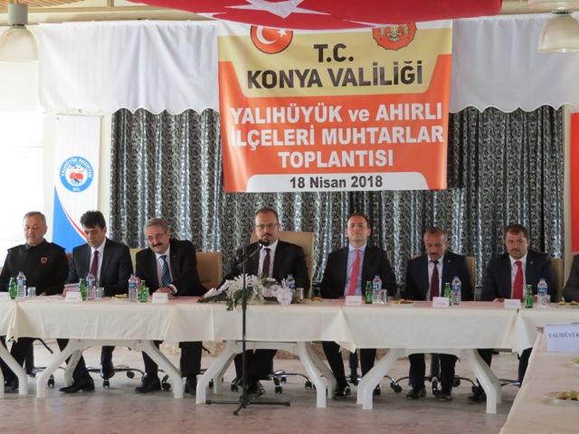 Konya Valisi Canbolat ilçeleri gezdi