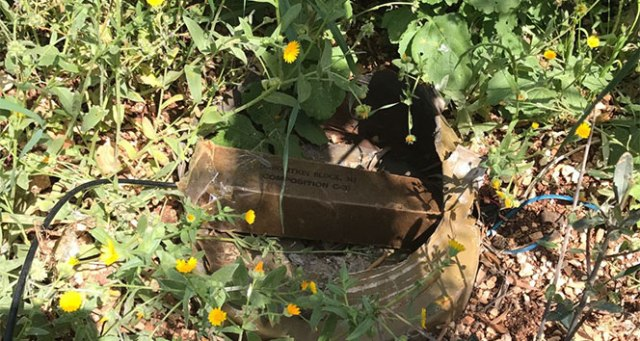 TSK: 'Kafer'de 1 adet el yapımı patlayıcı imha edildi'