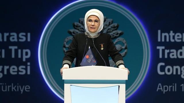 Emine Erdoğan: Geleneksel ve tamamlayıcı tıp modern tıbbın alternatifi değildir