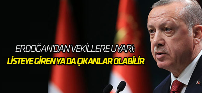 Erdoğan'dan Vekillere Uyarı: Ben Yoksam Kimse AK Parti Yok Demesin