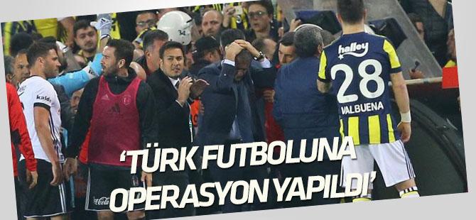 Mosturoğlu: Türk futboluna operasyon yapıldı