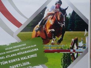 Binicilik engel atlama yarışı heyecanı Konya'da yaşanacak