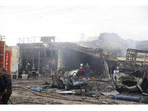 GÜNCELLEME 3 - Iğdır Sanayi Sitesi'nde patlama: 2 ölü, 14 yaralı