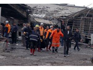 GÜNCELLEME 4 - Iğdır Sanayi Sitesi'nde patlama: 3 ölü, 14 yaralı