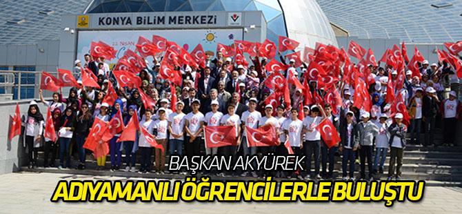 Başkan Akyürek 300 Adıyamanlı öğrenci ile buluştu