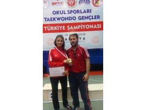 Sefa Ceren, Türkiye Şampiyonu oldu