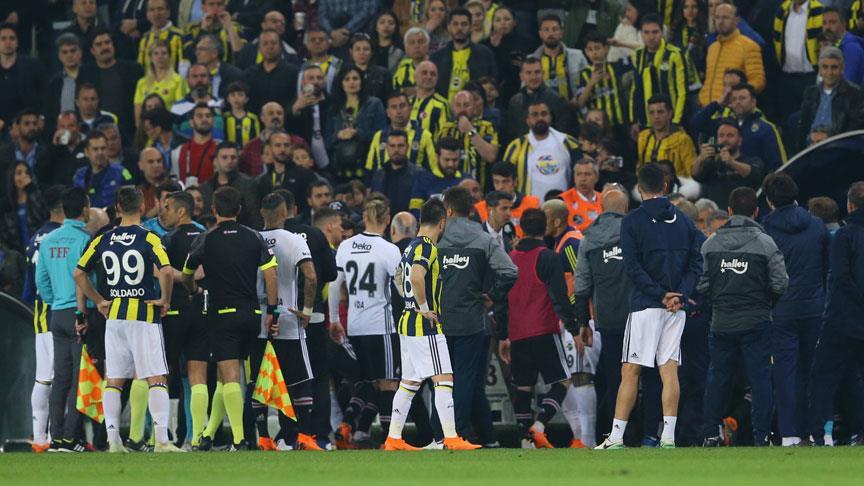 Beşiktaş, yarım kalan Fenerbahçe derbisine çıkmama kararı aldı