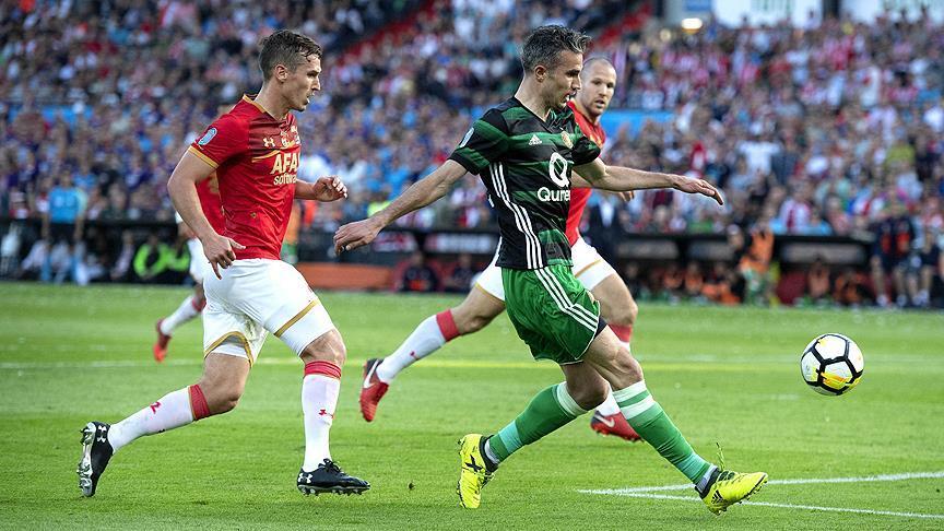 Van Persie gol attı! Hollanda Kupası'nı Feyenoord kazandı