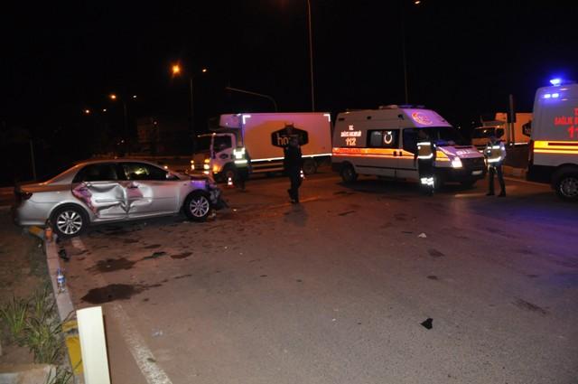 Seydişehir'de trafik kazası : 5 yaralı