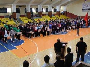 Okullararası Basketbol Türkiye Şampiyonası Konya'da başladı