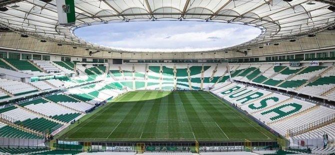 Bursaspor-Konyaspor maçı biletleri Perşembe günü satışa çıkacak