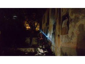 Kızılcahamam'da ev yangını