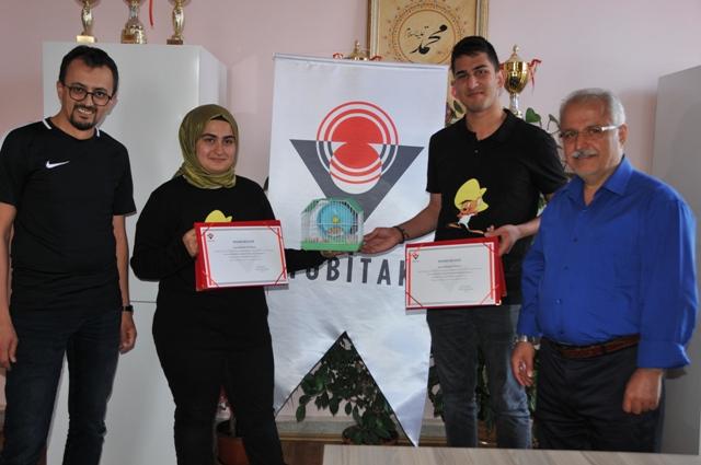 Zeki Özdemir'e 1. ödül